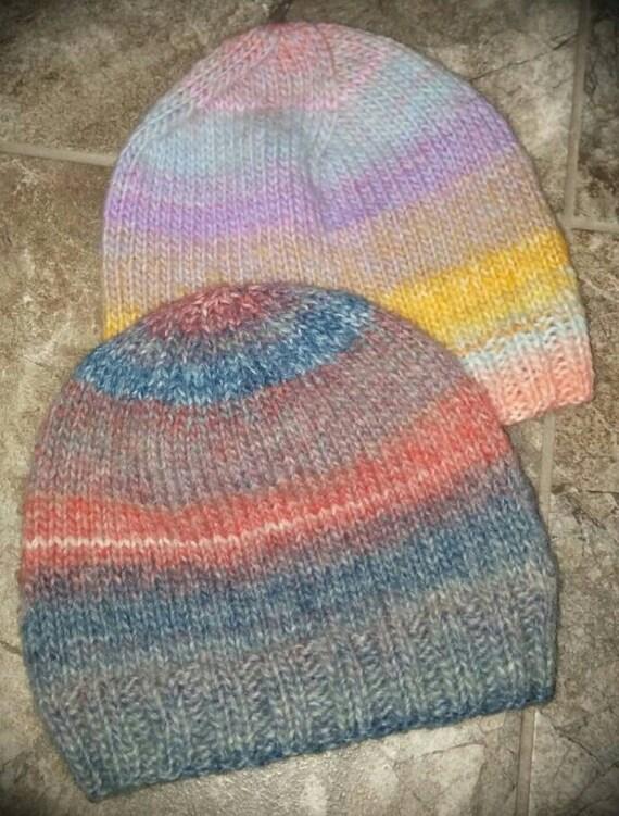 Basic Baby Hat Knitting Pattern : PDF Basic Baby Hat Knitting Pattern