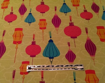 Playdate Chinese Lanterns fabric by Patty Young for Michael Miller Fabrics