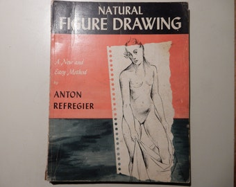 Natural Figure Drawing by Anton Refregier 1948