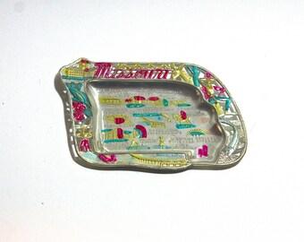 1950's Missouri State Souvenir Ash Tray
