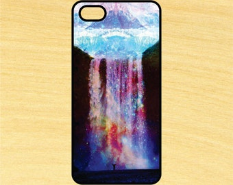 Galaxy Waterfall Art iPhone 4/4S 5/5C 6/6+ and Samsung Galaxy S3/S4/S5 Phone Case