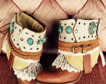 Cowgirl Annie Boots/custom cowboy boots/made to order westwen boots/wedding boots