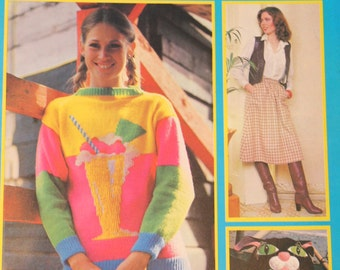 Vintage Stitch by Stitch Step by Step Guide to Sewing, Knitting, Crochet, and Needlework Issue 6 1982 1980s