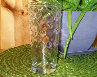 Set of 4 Anchor Hocking Water Glasses / Anchor Hocking Glassware / Vintage Glassware / Water Glasses / Tumblers