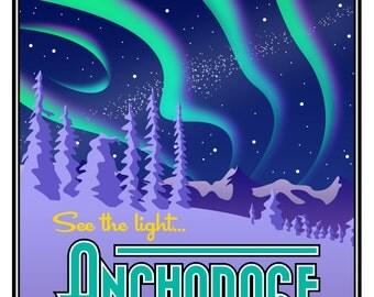 "Anchorage Poster Print - Large (16"" x 20"")"
