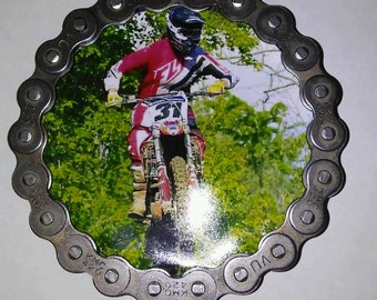 Dirt bike chain magnet