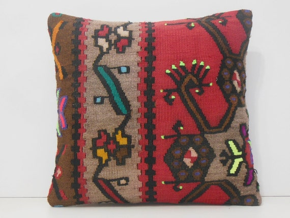 pillows decorative designer 18x18 large floor cushion floral