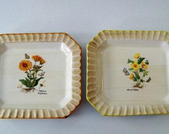 Ceramica Due Torri Set Of Two Large Serving Platters