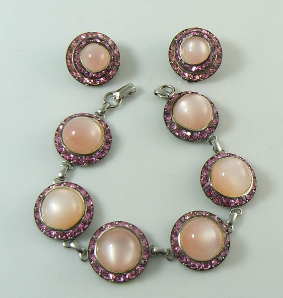 pink moonstone jewelry vintage - photo #24