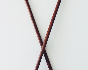 Wooden vintage knitting needles ON SALE NOW!!