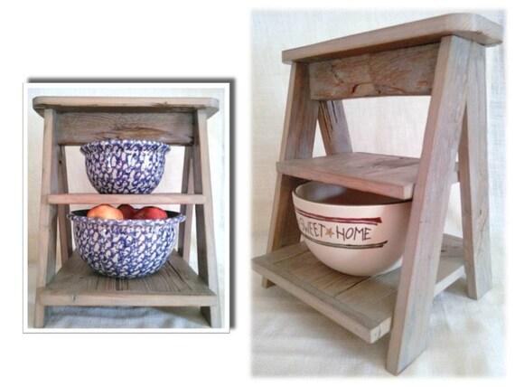 rustic reclaimed barn wood ladder kitchen island tabletop. Black Bedroom Furniture Sets. Home Design Ideas