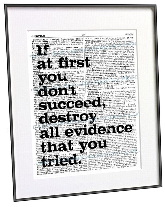Items similar to success saying office inspirational art for Inspirational items for office