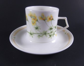 SALE Mikasa Demitasse Cup and Saucer Nature's Garden