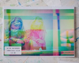 "Glitch Art print ""amy5.jpg"""