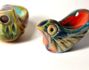 Each Worry Bird™ is handmade and unique! Worry Birds are special friends that fit  your hand, they bring you peace, love, & all things good