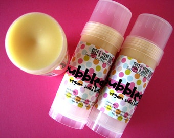 Bubblegum Solid Lotion Bar  - Bath and Body - Solid Perfume - Foot Balm - Natural Skin Care Vegan - Solid Body Butter