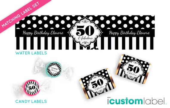 Party package birthday party set party printables for 50th birthday decoration packages