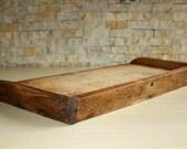 Vintage Primitive Kitchen Cutting Board Bread Board Noodle Wooden Chopper