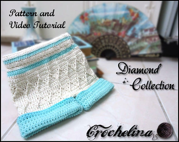 Crochet Baby Shorts Pattern with Video Tutorial- Diamond Collection 0-24 Months