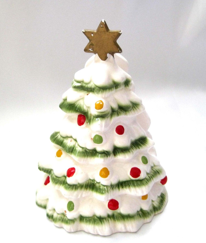 Lefton napkin holder christmas tree s by