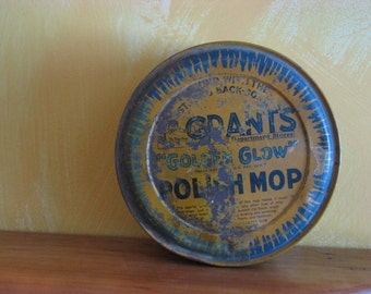 Grant's Golden Glow Polish Mop Tin