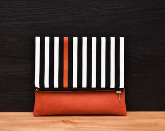 HEIMARBEIT- Design Clutch terracotta