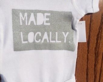 North Dakota Made Locally onesie/toddler t shirt
