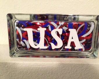 USA Tile Decoration