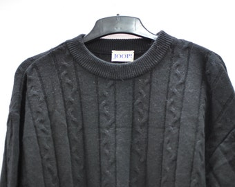 Vintage JOOP men sweater wool and angora ....