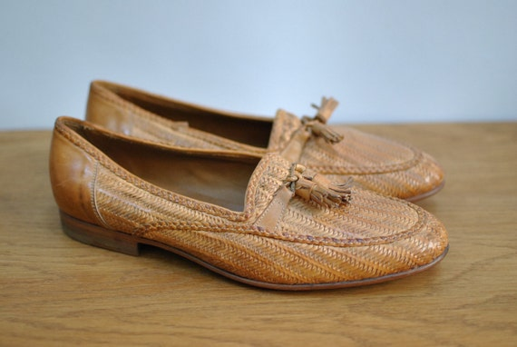 Vintage bally madrid mens leather shoes 024 - Bally madrid ...