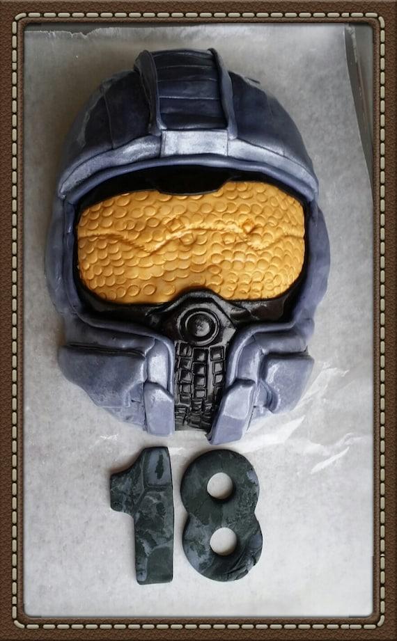 Halo Master Chief Cake Topper