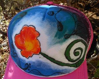 Peace Poppy Trucker Hat