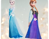 Frozen; Disney Frozen Birthday Party; Frozen Decor; Frozen Characters Centerpiece 20 Pieces Printed, Cut, and Shipped to you!