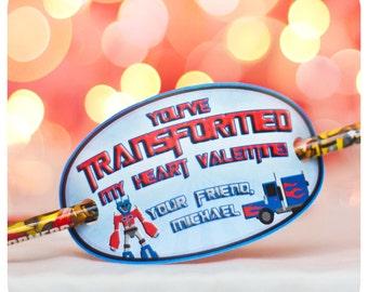 Valentine's Day; Transformers Valentine's; Valentine Card