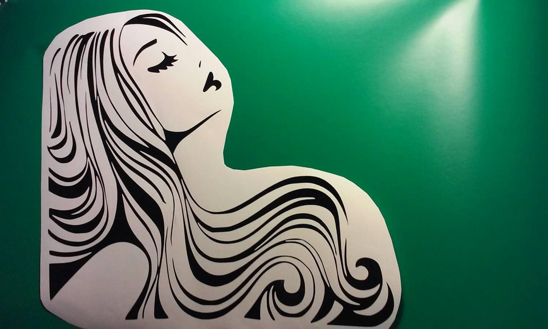 Hair stylist christmas ornaments -  Hair Salon Decal Hair Stylist Hair Studio Winow Decals Hair Salon Window Decal