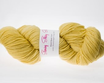 Golden Sunrise - Luxury Fingering Weight - Merino, Cashmere & Nylon - 100 g - 425 yds