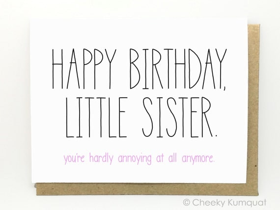 Funny Birthday Meme For Twins : Funny birthday card for sister by cheekykumquat