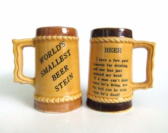 mini beer steins vintage beer miniatures beer mugs beer enthusiast