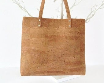 Cork Bag - Eco Friendly Gift - Vegan Bag