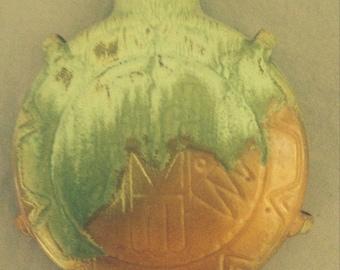 Vintage Frankoma Art Pottery Canteen