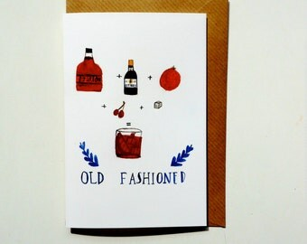Old Fashioned Greetings Cards