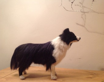 Custom made large long haired  dog