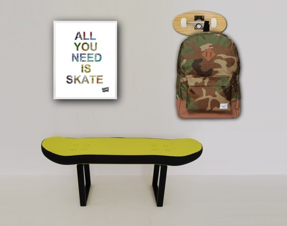 boys skateboard bedroom decor skateboarder decoration gift idea