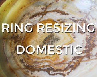 Free Resizing Service for rings from Two Blind Mice Studio ONLY - domestic and international