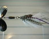 Crappie Pattern FlyStyle Muskie Bucktail