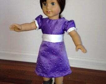 """18"""" fancy doll dress"""