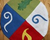 Small altar cloth - Pagan, Druid, Wiccan