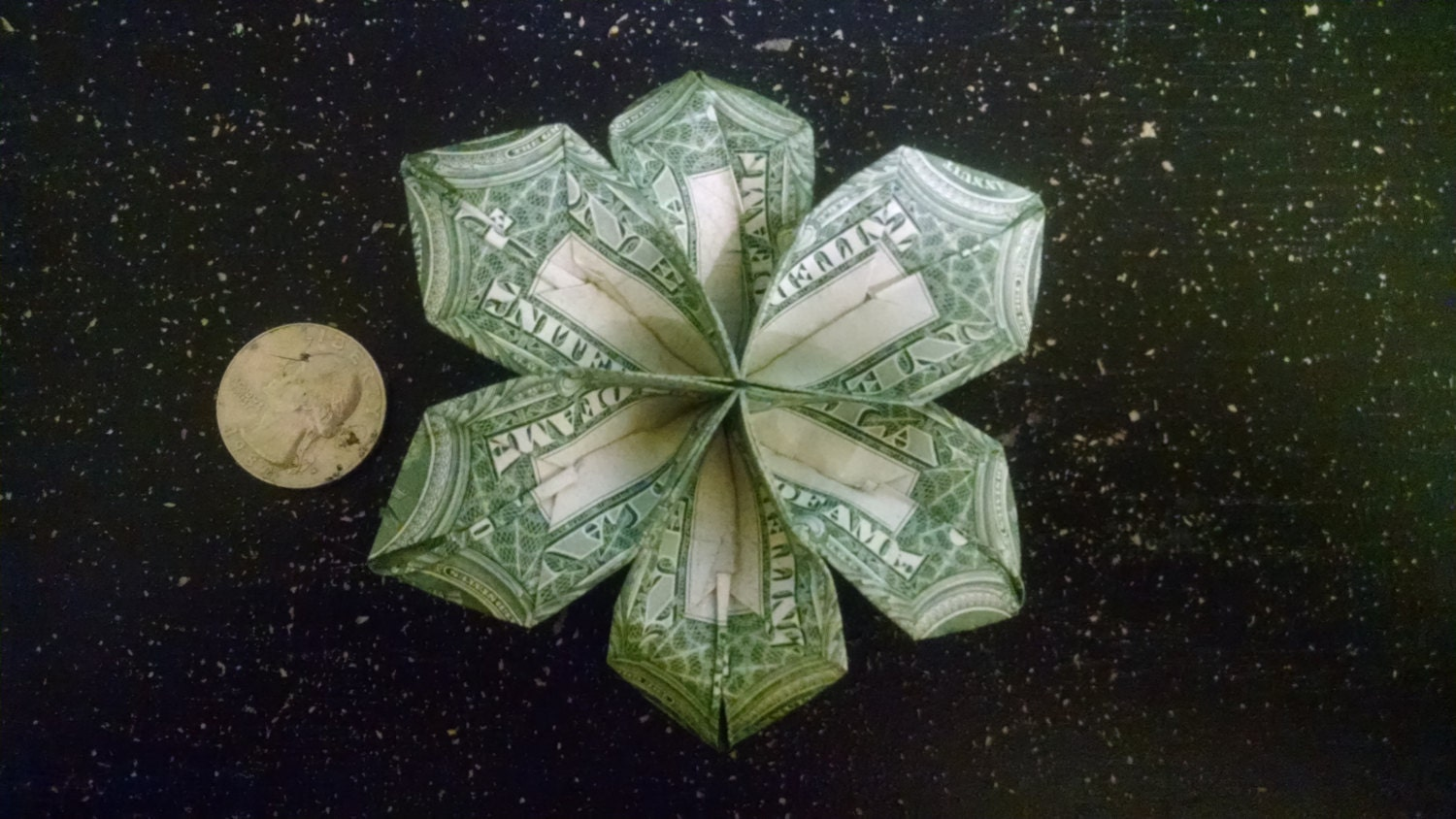 Origami Flower Dollar Bill Dollar Bill Flower Module Diagrams