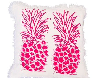 Juice It Up Pink Pineapple Cushion