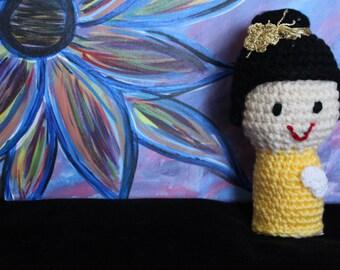 "Hand crocheted Dolls - ""Sunshine"""